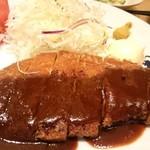 大かまど飯 寅福 - 味噌ロースカツ