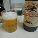 交通飯店 - ビールはドコも同じ