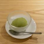 本串家物語 - 抹茶の冷菓子
