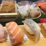 逹鮨 - サーモンと白身