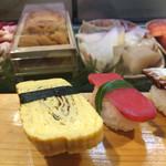 逹鮨 - たまごと赤かぶ