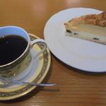 米安珈琲焙煎所 - 琵琶湖ブレンド・ケーキ
