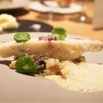 Point - 鯛のポワレ ソースコキヤ―ジュ