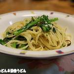 嵐山農産物直売所 - 料理写真:おじさん作 菜の花パスタ