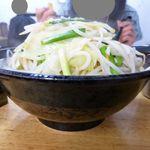 66864830 - タンメン(大盛)800円、野菜大盛(無料)、ライス(11:00-15:00無料)