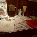 陳麻家 - 【2017.5.10(水)】カウンター席