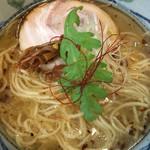 塩元帥 - 塩らーめん☆★★☆和風な魚介も大切にしたスープ