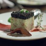マルシェ デ ジュウバン - 2017.5 鴨のコンフィ入りポテトのエクラゼとアブルーガ(1,400円)