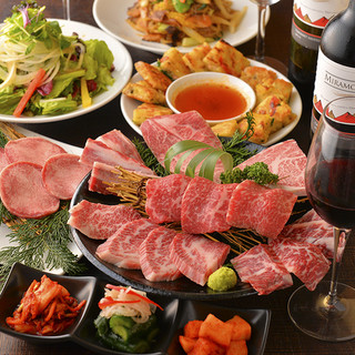 世界初、15の焼肉・韓国料理老舗有名店の絶品料理が総集結!!