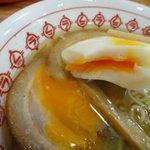 今治処しおさい食堂 - 半熟卵