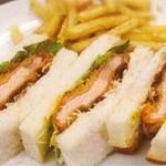 フジエダハウス - 料理写真:ロースカツのパン・ド・ミサンド