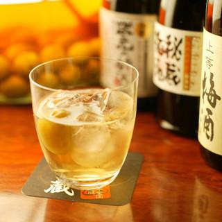 ビール・サワー・ワイン・日本酒・焼酎と飲み物の種類も豊富♪