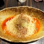 中華そば くにまつ - 汁なし担々麺 3辛