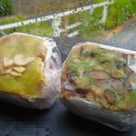 POTASTA - うぐいす餡びーんずとピーナッツバタースイートポテト