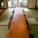 祐天寺ひろば 向日葵 - 団体さま利用時は連結できる長テーブルもございます!