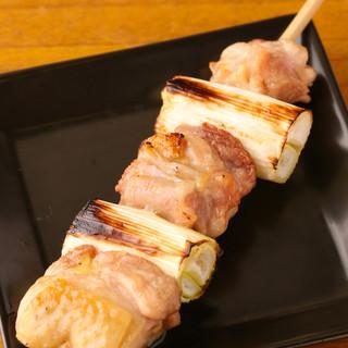 博多地鶏ねぎま180円