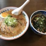 蔵前元楽総本店 - 特製元ちゃーしゅーめん こぶためし(1160円)