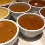 リトルインディア - カレー6種