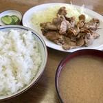 永楽食堂 - 焼肉定食