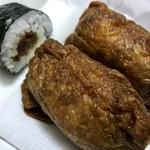 和菓子 みゆき - いなり寿司と干瓢巻き