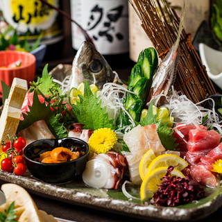 新鮮な鮮魚や地鶏を丹精込めて…宴会コース3500円~ご提供!