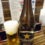 鳥若 - 瓶ビール