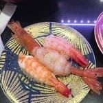 66888800 - 食べ比べ 海老3種(むき海老・大赤海老・甘エビ)