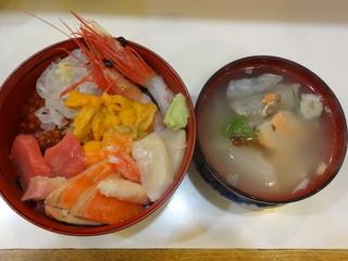 朝市の味処 茶夢 - 大漁丼