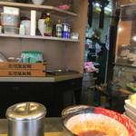 麺や すずらん亭 - 厨房側