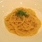 リストランテAO 青山 - 新鮮なウニのスパゲッティーニ