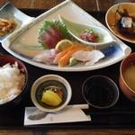 平野鮮魚 - 刺身定食@900