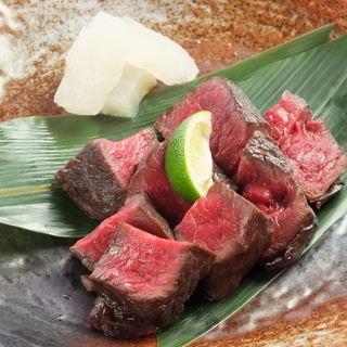 肉好き必見!炭火焼きステーキ