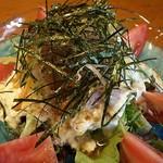 串本 - 豆腐サラダ500円