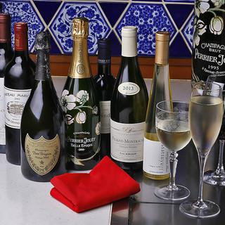 世界各地から集めた厳選ワイン