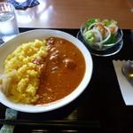 旬菜 野の花亭 - まめまめブーブーカレーセット@972