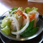 旬菜 野の花亭 - サラダ