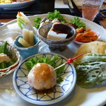 旬菜 野の花亭 - 料理写真:アップで