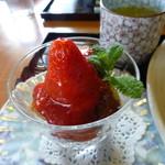 旬菜 野の花亭 - デザート