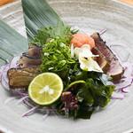和宴処 みやま - 濃厚な味わい。幻の高級魚『天然スマ わら焼き.』