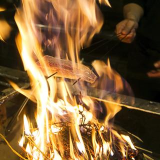 かつをやスマなど、極上の国産食材をシンプルに調理