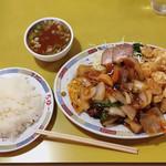 ちゅー - 中華定食  ¥1050