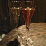 ニノジ - グラスシャンパン