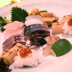 旬菜料理 浩史 - 刺し盛り