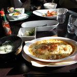 さかな 肴 mesa ZOKKON+  - 海老ドリア