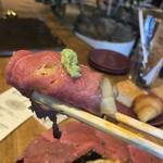 Gardens Pasta Cafe ONS - カルボナーラをローストビーフで巻くなんて!