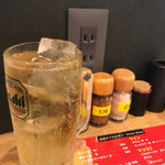 山田 オブ ホルモン - オープン記念でハイボール190円