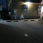 レジスタ - 駐車場の一部