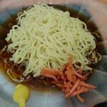 日高屋 - 麺はちょっと固め