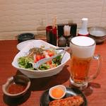 静岡駅南 ふじのくに酒場 轟屋 - スーパードライ 199円