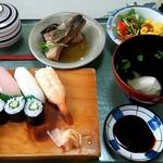 福助寿司 - 料理写真:寿司定食 \980 (平日限定)